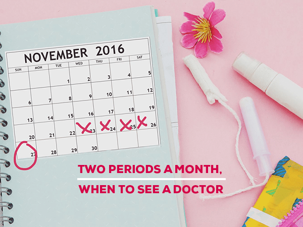 Irregular periods and doctor's consultation